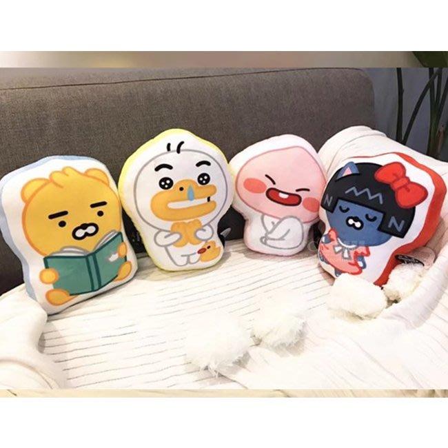 【FAT CAT HOUSE胖貓屋】韓國kakao friends萊恩Ryan嬰兒版抱枕 BTS防彈少年團 姜丹尼爾同款