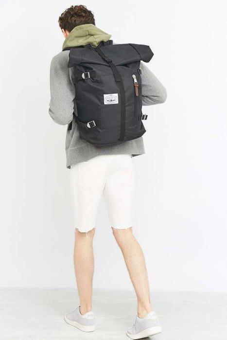 現貨 美國 Poler Rolltop 黑色 後背包 雙肩包 露營 時尚登山包 大學包 捲筒設計 大容量 筆電包