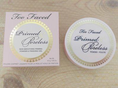 Too Faced  Primed & Poreless loose powder 蜜粉
