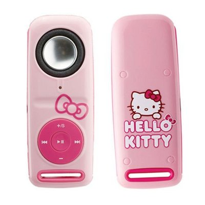授權限量版~大功率擴音Hello Kitty 4GB MP3 數位播放器(KT-002)