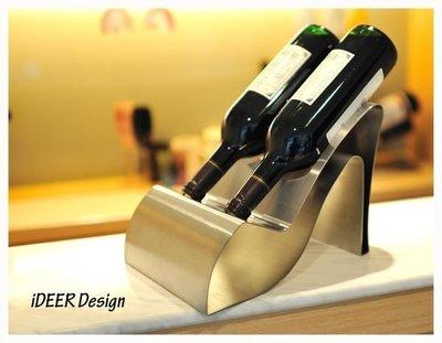 ☆ iDEER -設計師款- 高跟鞋紅酒架 ☆
