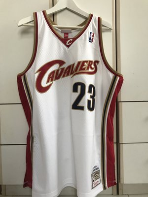 Mitchell & Ness LeBron James Authentic Jersey Cleveland Cavaliers NBA XL(48) 出場版