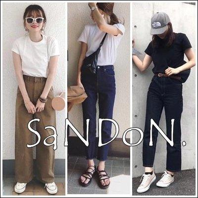 SaNDoN x『日本貴牌』夏天很需要基礎素面TEE 合身不貼身絲光棉TEE UNGRID 190504