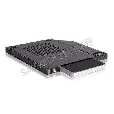 中銨 MB511SPO-1B 2.5吋 硬碟 SSD 熱插拔轉薄型光碟機 (9.5mm) 抽取式 slim ODD