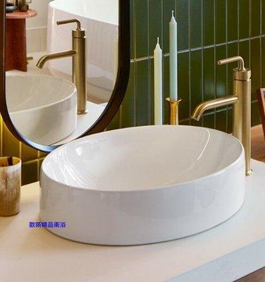 【歐築精品衛浴】KOHLER《美國》✰CHALICE橢圓型檯面盆K-99183T-0