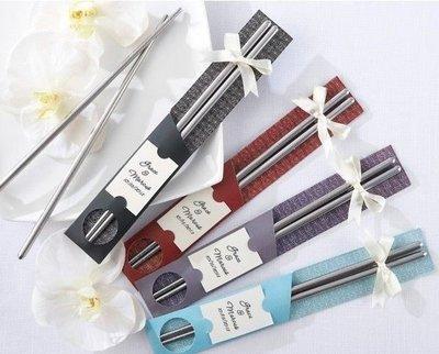 歐式不鏽鋼喜筷 送客禮 婚禮小物