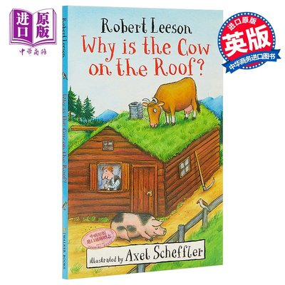 Why Is the Cow on the Roof 為什么牛在屋頂上 兒童文學故事 英文原版 7-12歲