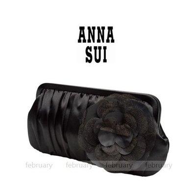 february 小舖 - [全新真品] ANNA SUI 紫境魔鑰經典手拿包 晚宴包 長夾