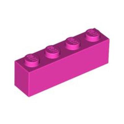 [PolarBrick][零件] Lego Dark Pink Brick 1 x 4 (3010)