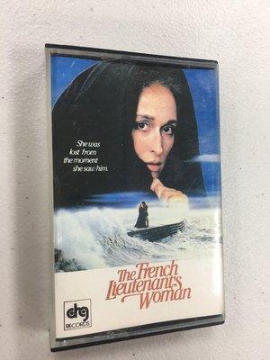 法國中尉的女人 The French Lieutenant's Woman 電影原聲帶  / 卡帶 錄音帶 多年收藏