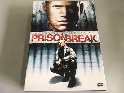 「環大回收」♻二手 DVD 早期 絕版【越獄風雲 第一季 Prison Break】精裝版 整套 美劇影集 請先詢問