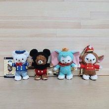 日本迪士尼 大學熊 小飛象 提姆 米奇 唐老鴨 娃娃