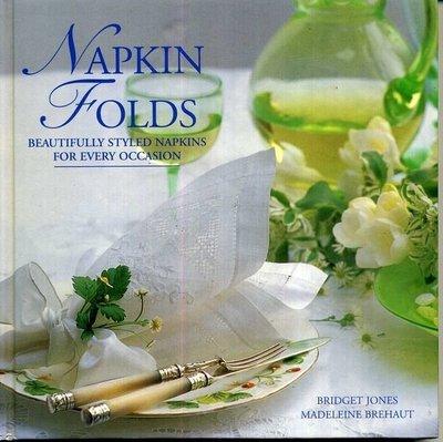 紅蘿蔔工作坊/NAPKIN FOLDS (西式餐巾裝飾摺法)*4-d