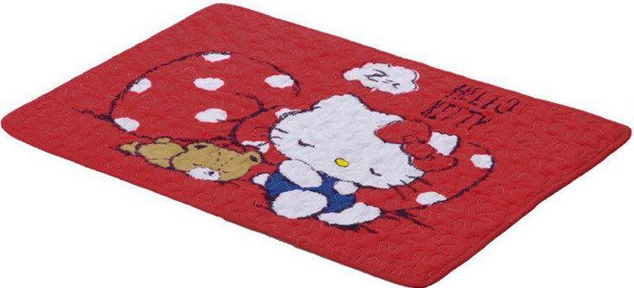 全新 SOGO Hello kitty 棉質吸水腳踏墊 週年慶來店禮