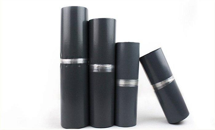 台灣現貨 黑款 100入 快遞袋 17*30 破壞袋 不透 包裝袋  自黏性物流袋 寄件袋自黏袋 PE袋