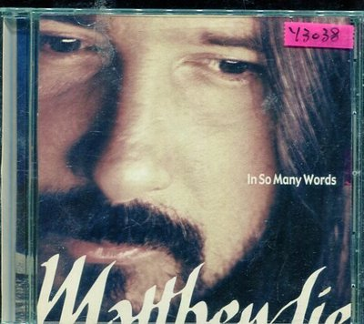 *還有唱片行* MATHTEW LIEN / IN SO MANY WORDS 二手 Y3038