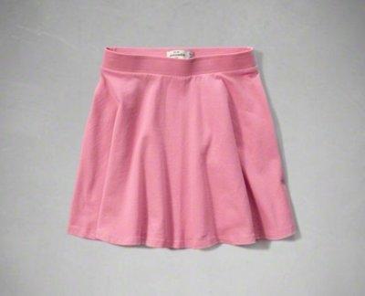 【全新正品】Abercrombie Kids AF Skater Skirt 女孩粉色短裙~XL~大人可