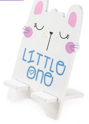 粉紅可愛白兔仔手機支架