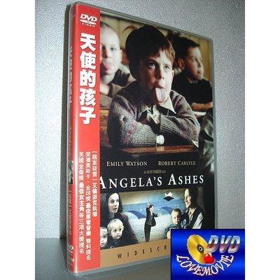 三區台灣正版【天使的孩子 Angela's Ashes(1999)】DVD全新未拆《謎霧莊園、偷書賊、戰馬:艾蜜莉華森》