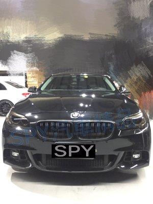 SPY國際 BMW F10 改款 LCI M-TECH 前保桿含霧燈蓋 後保桿 側裙 全套現貨