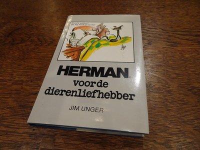 【卡卡頌 歐洲跳蚤市場/歐洲古董】Herman_Jim Unger 荷蘭 二手 插畫精裝書✬