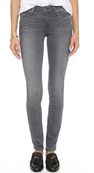◎美國代買◎paige transcend verdugo skinny jeans 灰刷色中高腰合身牛仔褲