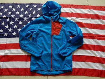 現貨 Patagonia Houdini 風衣外套 防風外套 防潑水 連帽外套 XS 藍紅配色 只有一件