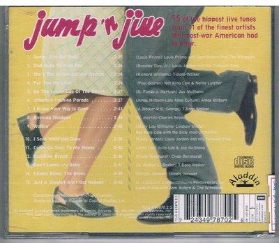 [鑫隆音樂]西洋CD-Various  Jump'N Jive    { 724349787025 }  全新