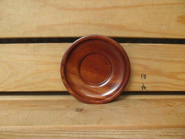 ~佐和陶瓷餐具~【XL050322-5原木杯托12cm-日本製】/ 木製 杯墊 /