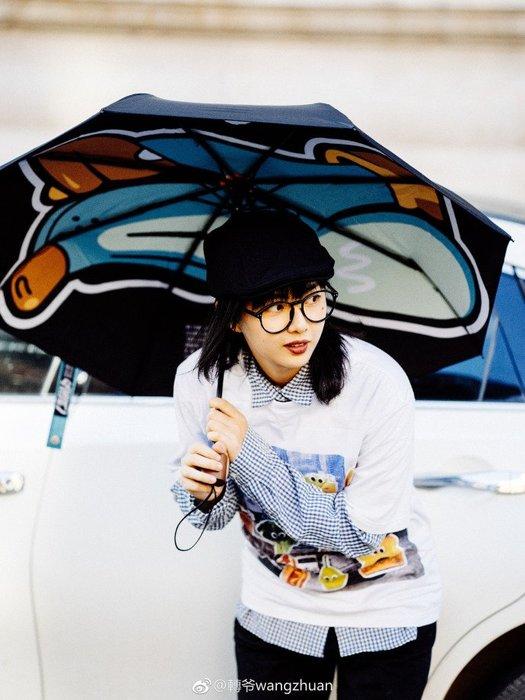 Subtle晴雨兩用傘-Kenji Chai藝術家合作款THE STRAY流浪犬