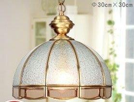 {美學}全銅燈 歐式餐廳吊燈銅燈過道飯廳吊燈美式吊燈銅燈MX-2115