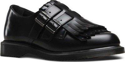 ~The Black Dan Moccani~ [特價] Dr. Martens Ellaria Kiltie 孟克鞋