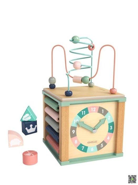 繞珠串珠兒童益智玩具1-2-3周歲百寶箱一歲寶寶早教智力積木