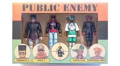 Presspop Toy x Ed Piskor x Public Enemy 可動 玩偶 公仔 HipHop 全球限量
