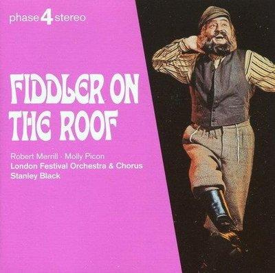 《絕版專賣》屋頂上的提琴手 / Fiddler On The Roof 音樂劇原聲帶 (德版.半銀圈)