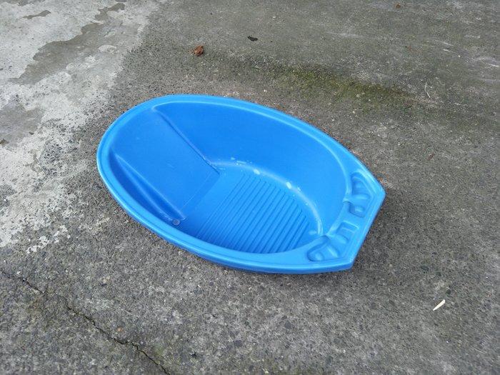 【安鑫】二手~藍色嬰兒浴盆 幼兒泡澡桶 兒童浴缸 幼兒洗澡盆 【A424】