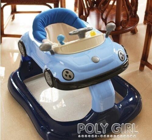 學步車  高檔嬰兒童寶寶學步車帶音樂防側翻多功能小孩學行車6-7-18個月atf  poly girl