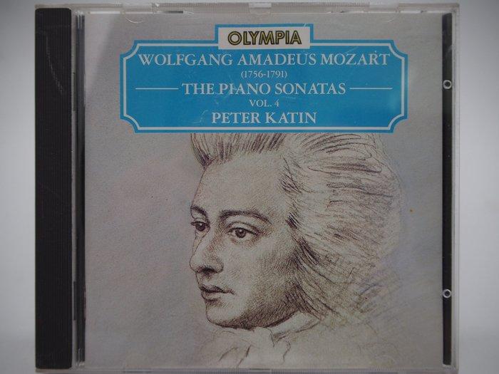 【月界】Mozart:The Piano Sonatas, Vol. 4_Peter Katin_古典樂 〖專輯〗CIR