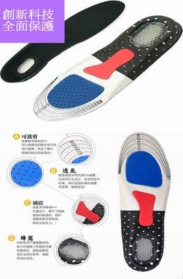 EVA 矽膠蜂窩氣墊鞋 蜂窩鞋墊 彈性記憶 抗壓防震 舒壓保護 足弓 後跟 爽健 增高 健走 運動慢跑鞋 NIKE籃球鞋