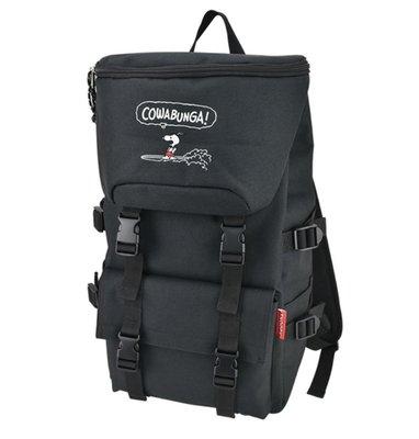 日本 史努比 刺繡 後背包 書包 雙肩包 背包 包包 輕便 電腦包 運動 旅行行李 snoopy 生日禮物大容量