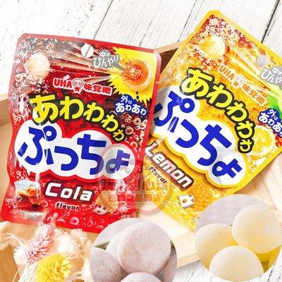 蘋果甜心漾 日本UHA味覺糖噗啾碳酸糖果 單包 [JP690]