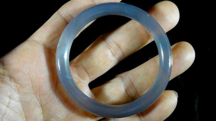 [福田工藝]天然瑪瑙玉鐲/手鐲/手環/內徑5.3cm外徑6.8cm手圍:17.5[瑪鐲10]