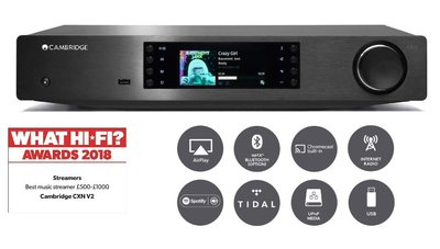 【高雄富豪音響】Cambridge Audio CXN (V2)串流數碼播放器 現貨展示中