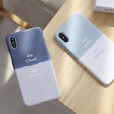 韓國 紙心情 硬殼 手機殼│S6 Edge Plus S7 S8 S9│z8355