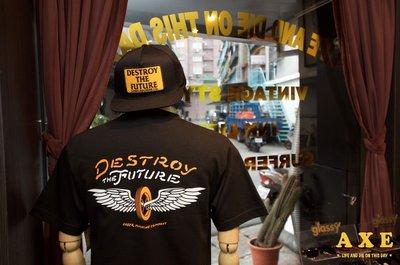 【AXE】LOSER MACHINE-CHALLENGER POCKET TEE西岸硬派重機潮流 敗者機 美牌T恤
