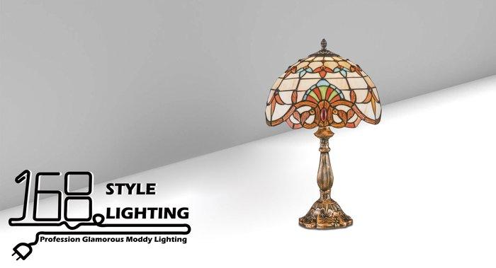 【168 Lighting】古典藝術《第凡內桌燈》GI 71502-2