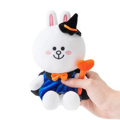 全新 2019 韓國直購 LINE FRIENDS 19CM Halloween 萬聖節版 Cony 公仔 正品 預購(可旺角門市交收)