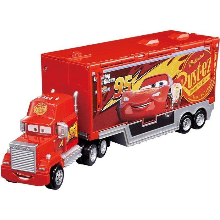 傑仲(有發票)麗嬰國際 公司貨 多美CARS 變形升降貨車 DS89851 (內無含小車)