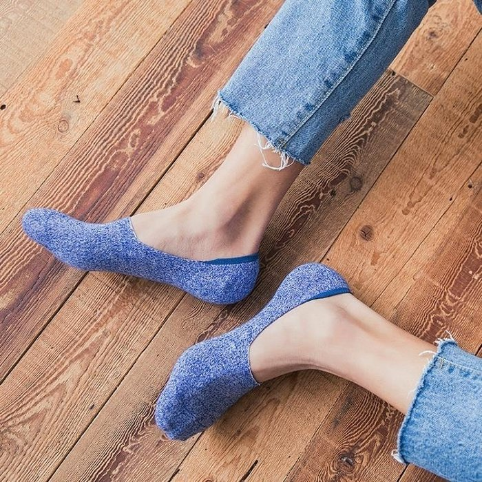 襪子男士船襪夏季棉質薄款短襪低筒淺口防臭硅膠防滑隱形襪男夏潮AMXP