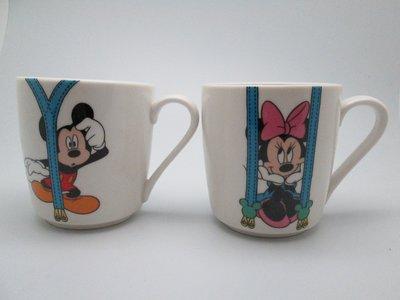 正版米奇米妮二入對杯組 正版米奇米妮二入馬克杯對杯組 Micky&Minnie Mugs.尺寸:17.6x9.5x9.9